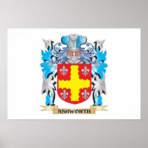 Escudo de armas de Ashworth Impresiones