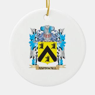 Escudo de armas de Aspinwall Ornamentos Para Reyes Magos