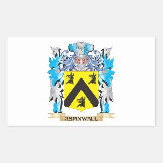 Escudo de armas de Aspinwall Rectangular Altavoces