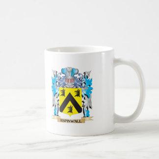 Escudo de armas de Aspinwall Taza De Café