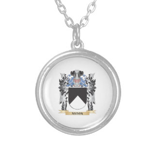Escudo de armas de Aston - escudo de la familia Colgante Redondo