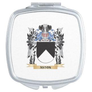 Escudo de armas de Aston - escudo de la familia Espejos Maquillaje