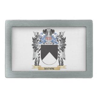 Escudo de armas de Aston - escudo de la familia Hebillas De Cinturón Rectangulares
