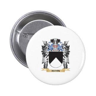 Escudo de armas de Aston - escudo de la familia Pin Redondo 5 Cm