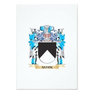 Escudo de armas de Aston Invitacion Personal