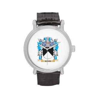 Escudo de armas de Aston Relojes De Mano