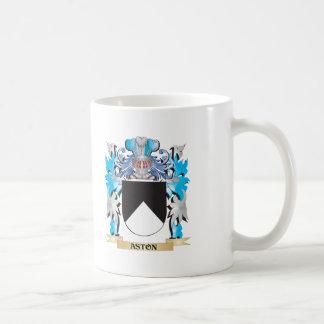 Escudo de armas de Aston Tazas De Café