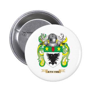 Escudo de armas de Atkyns (escudo de la familia) Pin