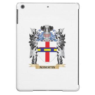 Escudo de armas de Aubertin - escudo de la familia Funda Para iPad Air