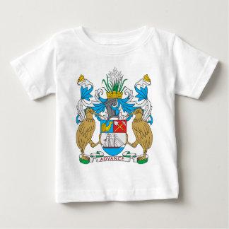 Escudo de armas de Auckland Playera De Bebé
