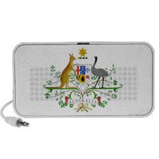 Escudo de armas de Australia Mp3 Altavoces