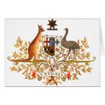 escudo de armas de Australia Felicitaciones
