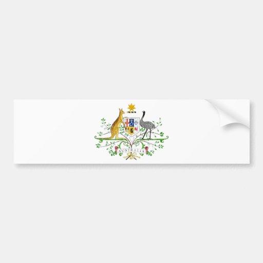 Escudo de armas de Australia Pegatina Para Auto