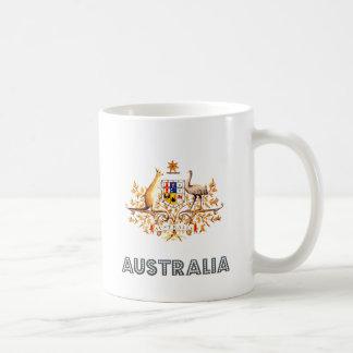 Escudo de armas de Australia Taza
