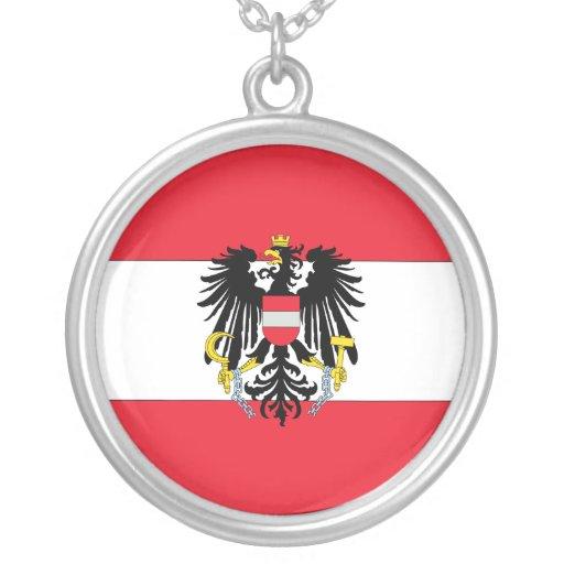 Escudo de armas de Austria Colgante Redondo