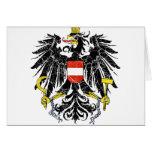 Escudo de armas de Austria Felicitacion