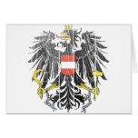 Escudo de armas de Austria Felicitación