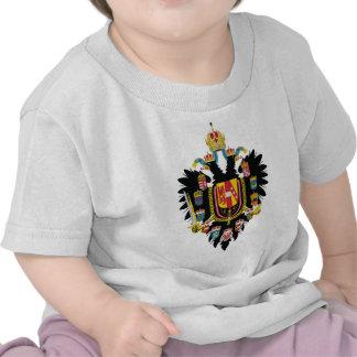 Escudo de armas de Austria Hungría (1894-1915) Camisetas
