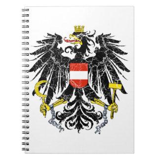 Escudo de armas de Austria Libreta