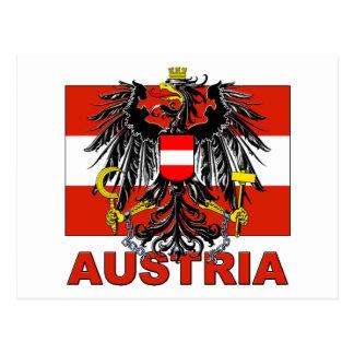 Escudo de armas de Austria Tarjetas Postales