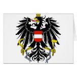 Escudo de armas de Austria Tarjetón