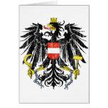 Escudo de armas de Austria Tarjeton