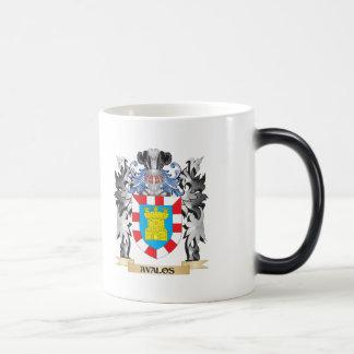 Escudo de armas de Avalos - escudo de la familia Taza Mágica