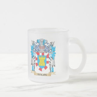 Escudo de armas de Avalos Taza De Cristal