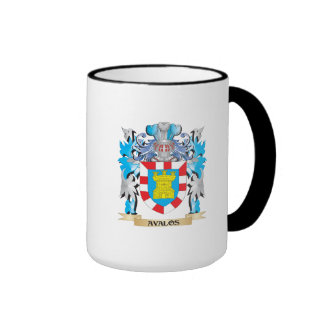 Escudo de armas de Avalos Taza De Dos Colores