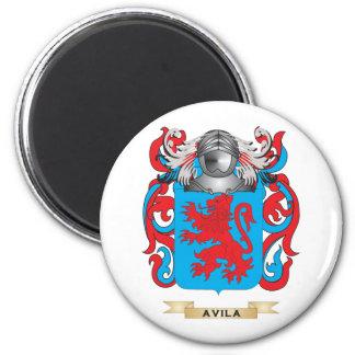 Escudo de armas de Ávila escudo de la familia Imanes Para Frigoríficos