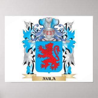 Escudo de armas de Ávila Poster