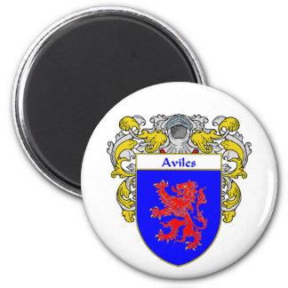 Escudo de armas de Avilés escudo de la familia Imán De Frigorifico