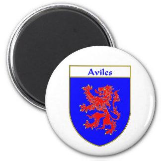 Escudo de armas de Avilés escudo de la familia Iman Para Frigorífico