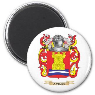 Escudo de armas de Avilés escudo de la familia Imán De Frigorífico