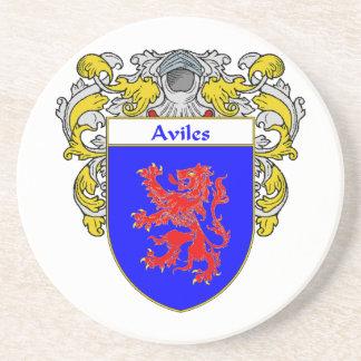 Escudo de armas de Avilés/escudo de la familia: Posavasos Diseño