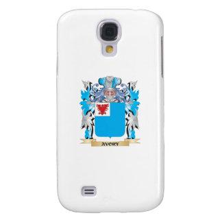 Escudo de armas de Avory Funda Para Galaxy S4