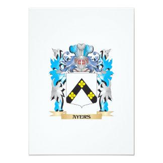 Escudo de armas de Ayers Comunicado Personalizado