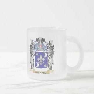 Escudo de armas de Aylward - escudo de la familia Taza De Cristal