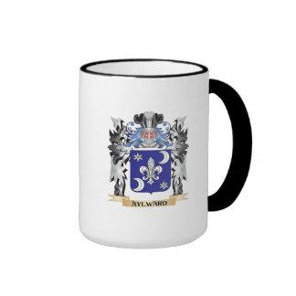 Escudo de armas de Aylward - escudo de la familia Taza De Dos Colores