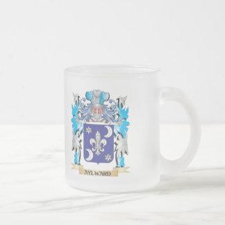 Escudo de armas de Aylward Taza Cristal Mate