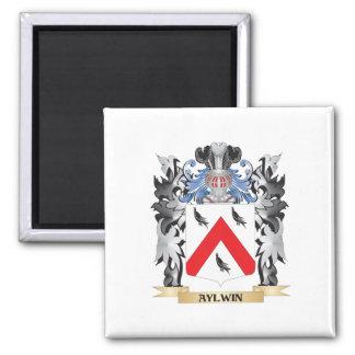 Escudo de armas de Aylwin - escudo de la familia Imán Cuadrado