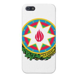 Escudo de armas de Azerbaijan iPhone 5 Funda