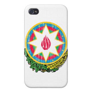 Escudo de armas de Azerbaijan iPhone 4 Fundas