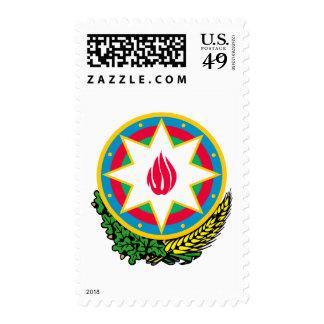 Escudo de armas de Azerbaijan Franqueo