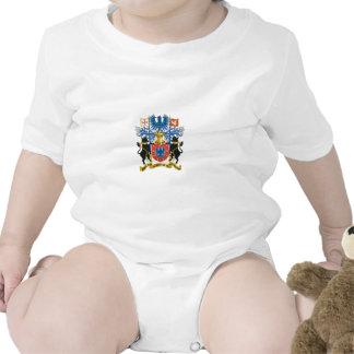 escudo de armas de Azores Traje De Bebé