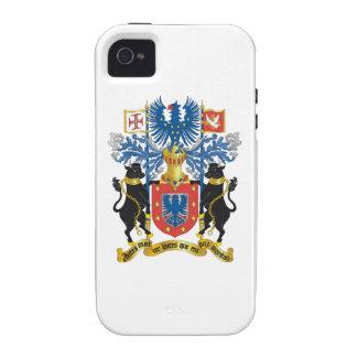 Escudo de armas de Azores Portugal Vibe iPhone 4 Carcasas