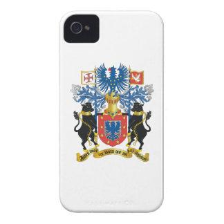 Escudo de armas de Azores Portugal iPhone 4 Case-Mate Cárcasa