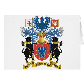 escudo de armas de Azores Felicitación