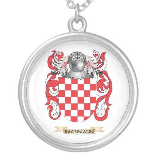 Escudo de armas de Bachmann (escudo de la familia) Grimpolas Personalizadas