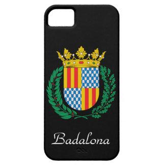 Escudo de armas de Badalona iPhone 5 Case-Mate Cárcasas